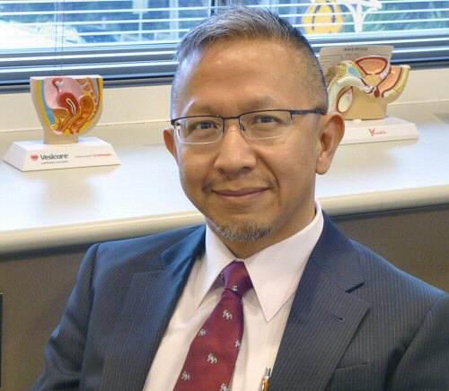 Doctor Rupert Ouyang at Wollemia Urology Centre
