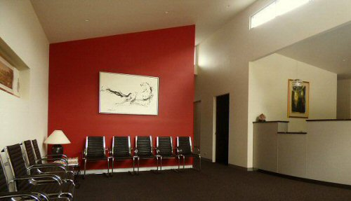 Wollemia waiting area